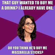 Liz Lemon may need some tips from Match.com relationship expert Whitney Casey: http://blog.match.com/2013/05/16/stir-with-success-tips-for-acing-a-stir-event-by-whitney-casey/