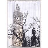 Found it at Wayfair - Big Ben Polyester Shower Curtain