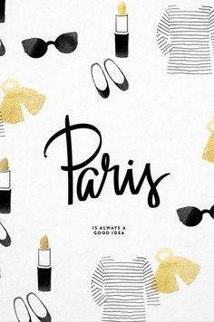 Today we're daydreaming about a last minute trip to Paris.