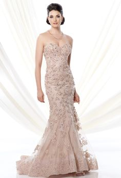 Ivonne D for Mon Cheri - 214D51 - Mother of the Bride Dress
