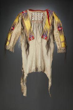 Sioux War Shirt. From Runs the Enemy