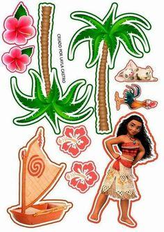 Принцессы Диснея: отпуск в тропиках