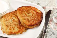 Mashed Potato Cakes--> make with butternut squash? mashed cauliflower?