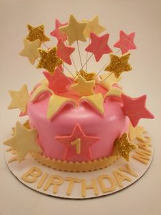 Twinkle twinkle Little Star smash cake by RGoodies
