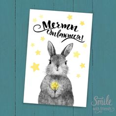 Открытка от Юлии Григорьевой c милой иллюстрацией с портретом малыша зайчика с волшебной палочкой, станет замечательным подарком. Наши открытки можно посылать почтой, что так любят посткроссеры со всего мира, дарить друзьям и близким, а можно просто повесить рядом с собой или оформить в рамочку. Размер 10х15 см, печать на картоне 300 гр