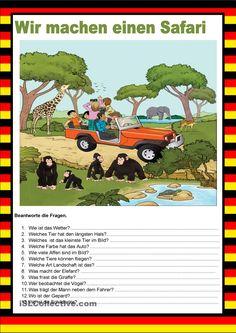 Willkommen auf Deutsch - Safari - Bildbeschreibung