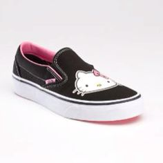 Vans Hello Kitty shoes!!! In getting these!