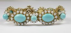 Janet Deleuse, designer ~ Turquoise & Pearl