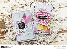 Group Post Featuring Floral Gloss Specialty Paper - Kaisercraft Official Blog
