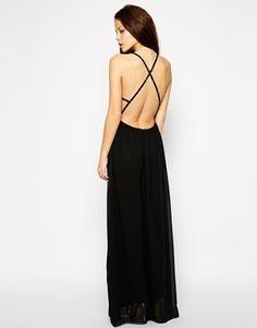 Image 1 ofOh My Love Strap Back Maxi Dress