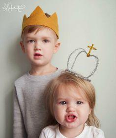 Ideas de DIY: Cómo hacer coronas de Reyes Magos
