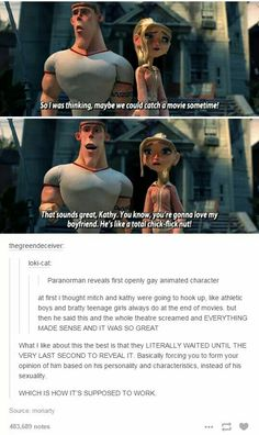 One of the many reasons why Paranorman was an excellent film