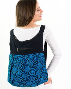 Batoh Ornament - tyrkysový Drawstring Backpack, Backpacks, Bags, Fashion, Handbags, Moda, Fashion Styles, Backpack, Fashion Illustrations