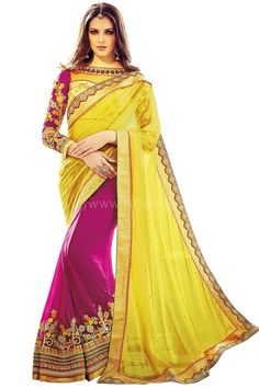 Reception Wear Saree for Ladies