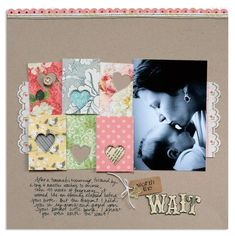 12 x 12 with hearts and journaling