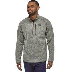 Fleece Sweater, Mens Fleece, Patagonia Better Sweater, Cool Sweaters, Easy Wear, Mens Sweatshirts, Pullover, Mens Tops, Jackets