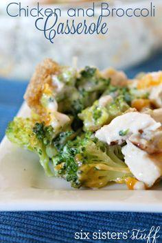 Easy Chicken and Broccoli Casserole | Six Sisters' Stuff