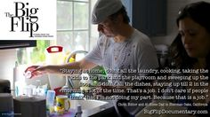 Chris, at-home dad in LA, cleans up his sons' many bottles.