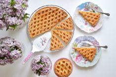 La griglia perfetta... Ecco come! #crostata #ricetta #ladfoodie #coLADzione #tart