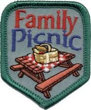 Family Picnic Fun Patch