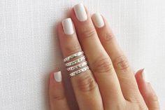 Una manera muy diferente de usar tus anillos