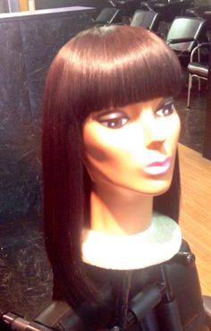 Custom wig with Chinese bang by Ms.Judith 7734300958