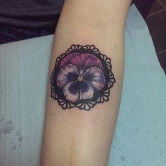 pansy tattoo - Google Search
