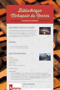 Bibliothéque Metropole du Rennes