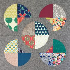 Flower Path Quilt Sew-Along + 3 Quilt Giveaway (Sew Mama Sew) Circle Quilts, Star Quilts, Scrappy Quilts, Quilt Blocks, Sew Mama Sew, Quilting Tutorials, Quilting Designs, Bag Tutorials, Quilt Design