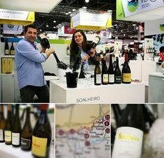 A new day at Prowein... ready for the tastings! Estamos na maior feira de vinhos da Alemanha a mostrar as nossas novas dimensões...good tasting!!!
