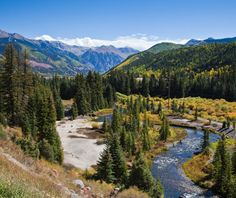 America's best spring drives: San Juan Skyway, Colorado. I think that Colorado and Montana are my favorite states. Colorado's rocky mountains are definitely on the bucket list to go back and visit soon.