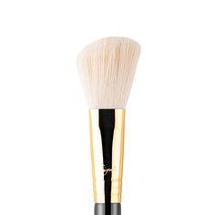 F40 - Large Angled Contour Brush - Gold