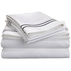 Superior 800 Thread Count Embroidered Deep Pocket Cotton Sateen Twin XL Sheet Set in Taupe/