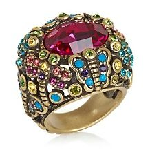 "Heidi Daus ""Spring Bling"" Crystal-Accented Dome Ring"