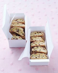 Pistachio-Raisin Biscotti (can sub other nuts for raisins, etc)