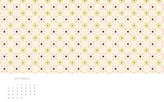 September Vintage Tile Desktop and Phone and Desktop wallpapers by May Designs. | Download: http://www.maydesigns.com/m/digital-wallpapers-september-2015