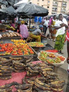 Abidjan, Ivory Coast. Marketplace