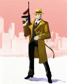 Dick Tracy Returns by *ninjaink