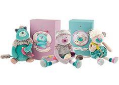 prachtige knuffel wondermooie geschenkdoos Moulin Roty | kinderen-shop Kleine Zebra