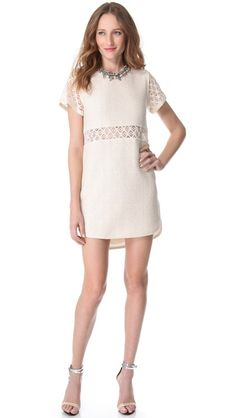 Sea  Cutout Tile Dress  $396.00