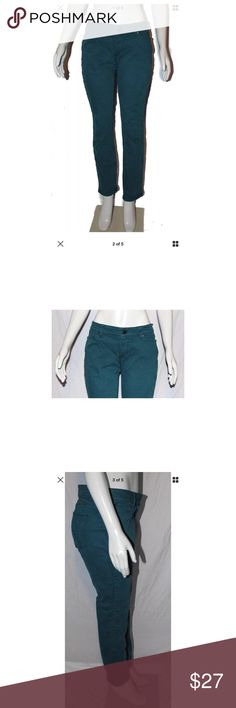 LOFT Seafoam Green Blue Pants Jeans Curvy Sz 8 P ***All Best Reasonable Offers Accepted!***  Details: These green blue pants from LOFT are perfect for the office or for a more casual outfit, no need to go home and change!MeasurementsWaist:32Inches (Across the top of the pants doubled)Length:37Inches (Top of pants to bottom of leg) Inseam:30Inches (Crotch to end of leg)Cuff: 6Inches (Across bottom of leg) LOFT Pants