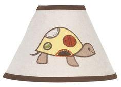 Sweet Jojo Designs Turtle Lamp Shade available at TinyTotties.com #tinytotties #kidsroomdecor