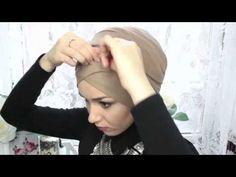 Hijab Tutorial Turban Style Ramadhan 2015 - YouTube