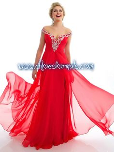 MAC DUGGAL 64426L CHERRY SIZE 8 PROM OR PAGEANT DRESS