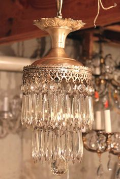 ❥ homemade chandelier?