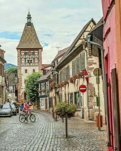 Bergheim. Alsace.. France