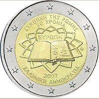 moneda Grecia 2 euros 2007 Tratado de Roma, Tienda Numismatica y Filatelia Lopez, compra venta de monedas oro y plata, sellos españa, accesorios Leuchtturm