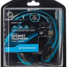 Sennheiser PC 8 USB Internet Telephony On-Ear Headset