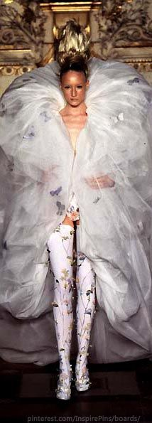 Alexander McQueen for Givenchy Haute Couture S/S 1997 | CostMad do not sell this idea/product. Please visit our blog for more funky ideas