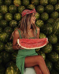 Watermelon, anyone? 🍉🍉 #oaxaca